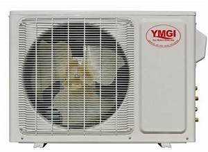 Ymgi 24000btu 2x12000 Dual Zone Ductless Mini Split Air