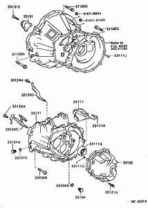 Toyota Corolla Cover Sub-assembly  Manual Transmission Case  Driveline