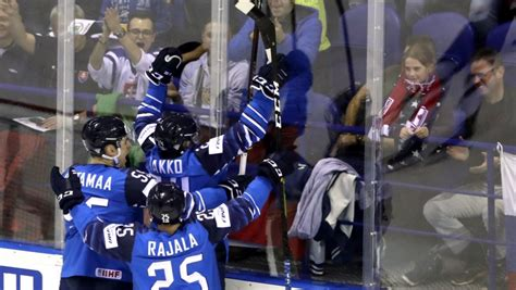 Kako gūst divus vārtus, Somija PČ sāk ar uzvaru pār Kanādu ...