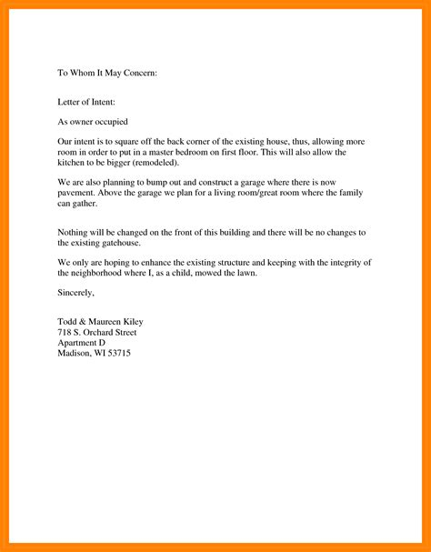 General Cover Letter To Whom It May Concern by 6 Memo To Whom It May Concern Edu Techation