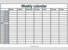 Monthly Calendar With Time Slots