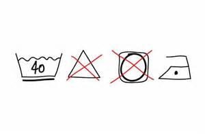 logo seche linge interdit laver le linge symboles de lavage sur les 233 tiquettes v 234 tements
