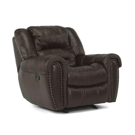 flexsteel leather sofa flexsteel 1210 54 crosstown glider recliner discount