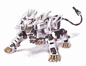 Liger Z Drawing by Chris Meyers