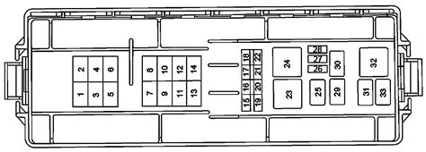 Ford Taurus Cooling System Diagram Wiring