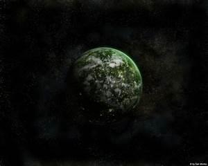 Green Planet by sanmonku on DeviantArt
