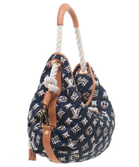 louis vuitton navy monogram bulles mm bag limited edition louis vuitton la doyenne