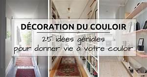 decoration couloir 25 idees geniales a decouvrir With attractive quelle couleur de peinture pour un couloir 3 et un couloir original de plus et un