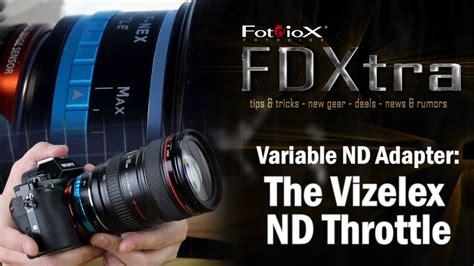 fotodiox vizelex  throttle variable  lens adapter