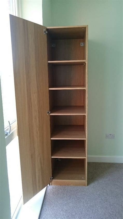 Single Wardrobe With Shelves Only by Ikea Pax Single Wardrobe With Shelves In West