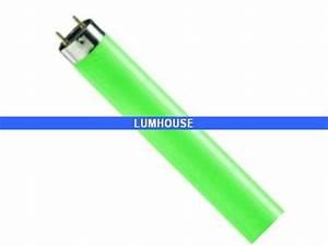 Tube Neon Couleur Deco : tube fluorescent t8 couleur vert 36w sylvania culot g13 ~ Melissatoandfro.com Idées de Décoration