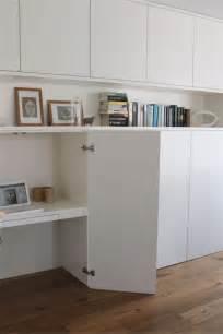 bureau avec rangement ikea un bureau discret et beaucoup de rangement bidouilles ikea
