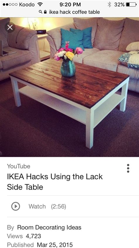 With tender loving care we've made it even better. Pin by isabelle on House ideas (With images)   Coffee table ikea hack, Lack coffee table, Coffee ...