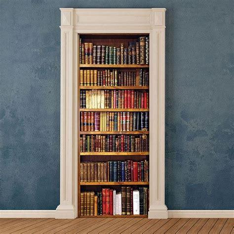 cr  bookcase door cover applique  home decor