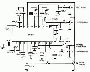 how to build bass treble tone control circuit circuit With tone circuit