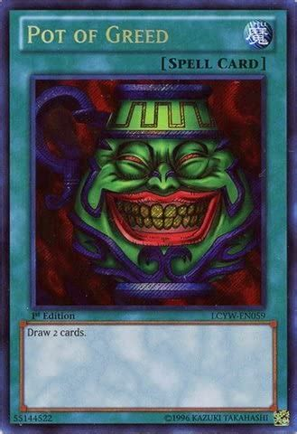 Maybe you would like to learn more about one of these? Cartes à l'unité Collections Pot Of Greed-Secret Rare-1st Edition-LCYW EN059 Yugioh pec.nu