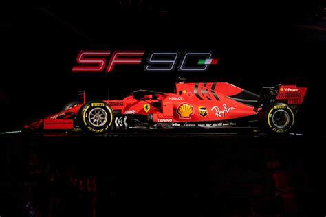 2019 F1 Car Wallpaper by Galeria Vermelho E Preto Fosco Apresenta Carro