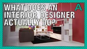 What does an interior designer actually do for What does a interior designer do
