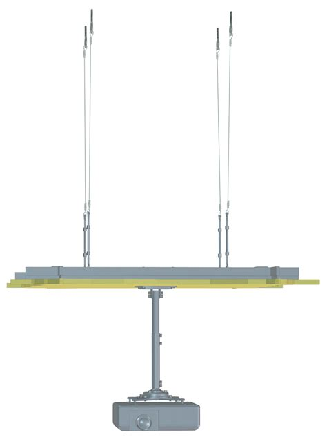 projector mount drop ceiling grid suspended ceiling adaptor drop ceiling adaptor false