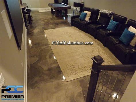 epoxy flooring options basement flooring options epoxy finish epoxy flooring pcc columbus ohio