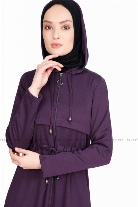 saira purper abaya  cazibe hijabfactorynl