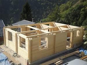 chalet madrier kit roumanie With maison en rondin prix 6 construire sa maison en bois en kit soi meme