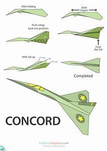 Paper Airplane Instructions U2019 Concord Kidspressmagazinecom