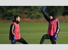 Eden Hazard & David Luiz Chelsea FC UEFA Champions