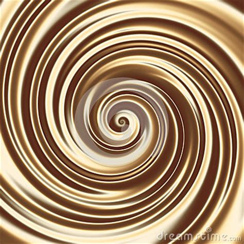 chocolate  coffee milk cocktail spiral texture royalty