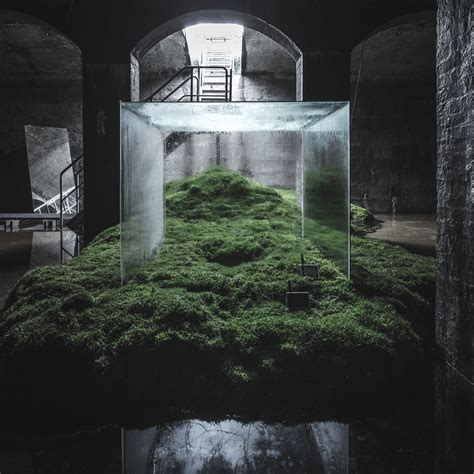 hiroshi sambuichis subterranean installation   cisterns
