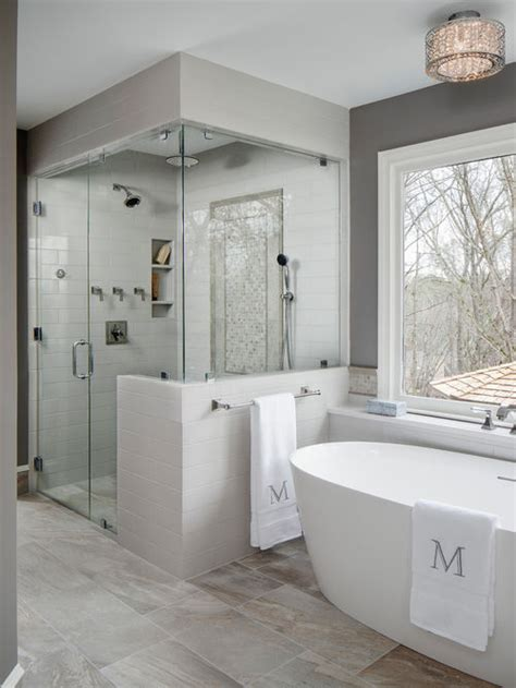bathroom finishing ideas 25 best walk in shower ideas remodeling pictures houzz