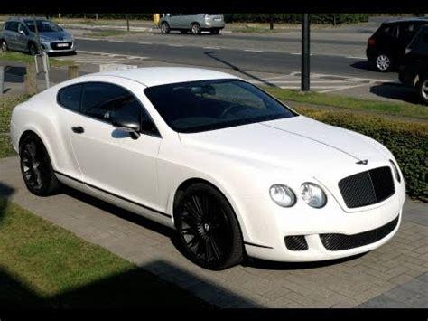 bentley continental gt total car wrap  maxplus white