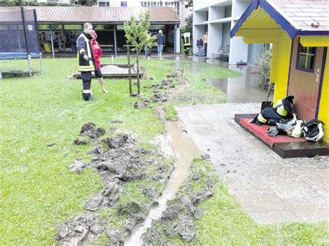Drainage Im Kindergartengarten Und Andere