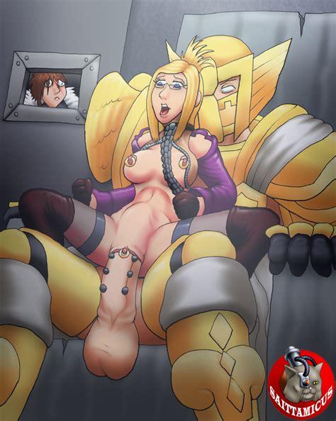 3d Hentai Lesbian Strap