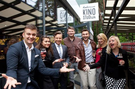 "Vilniuje duris atvėrė restoranas ""Kino studija"