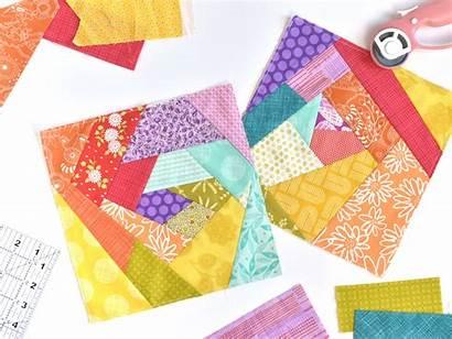 Quilt Crazy Tutorial Pattern Paper Piecing Fabric