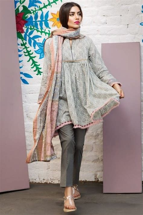 latest short frock fashion   trendy ladies