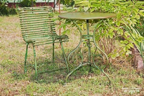 chaise verte best table de jardin metal verte photos awesome interior