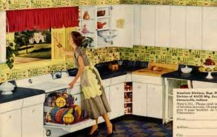 1950s kitchen furniture retro kitchen design sets and ideas