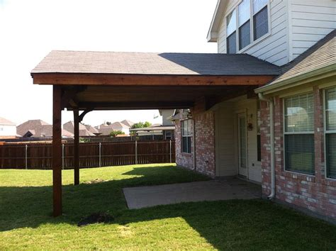 large gabled patio cover in frisco hundt patio