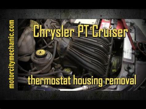 Chrysler Cruiser Upper Thermostat Housing Removal