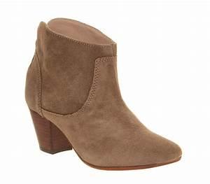 Hudson London Kiver Heeled boots Beige Suede