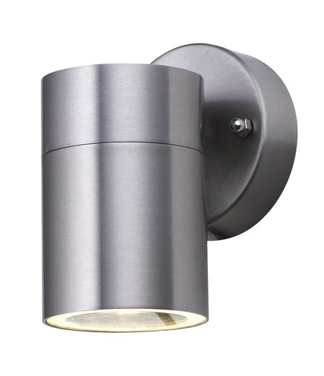searchlight 5008 1 stainless steel outdoor wall light