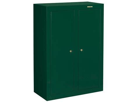 16 or 31 gun double door security cabinet stack on convertible double door steel security 16 to 31