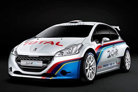 peugeot uncovers spec rally car wrc autosport