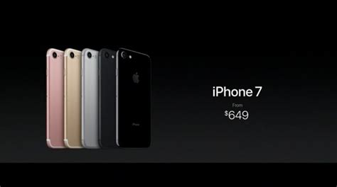 iphone 7 cost comparison iphone 7 and iphone 7 plus launch price around