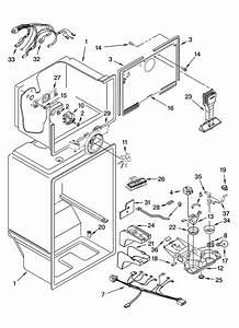 Liner Parts Diagram  U0026 Parts List For Model Et8chmxkt06