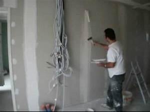 Bandes De Platre Bricolage : joint placopl te coller les bandes youtube ~ Dallasstarsshop.com Idées de Décoration