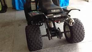 2004 Yamaha Warrior 350 Yfm Black