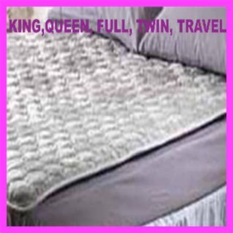 mattress pad for back reviews magnetic therapy mattress pad for back